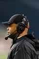 Sep 28, 2013; Seattle, WA, USA; Stanford Cardinal head coach David Shaw during the game against the Washington State Cougars at CenturyLink Field. Stanford defeated Washington State 55-17. Mandatory Credit: Steven Bisig-USA TODAY Sports