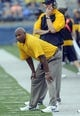 Oct 5, 2013; Kent, OH, USA; Kent State Golden Flashes head coach Paul Haynes  during the third quarter against the Northern Illinois Huskies at Dix Stadium. Northern Illinois beat Kent State 38-24. Mandatory Credit: Ken Blaze-USA TODAY Sports