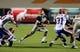Oct 5, 2013; El Paso, TX, USA; UTEP running back Aaron Jones (29) runs the ball against the Louisiana Tech Bulldogs at Sun Bowl Stadium. Mandatory Credit: Ivan Pierre Aguirre-USA TODAY Sports