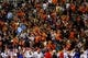 Oct 5, 2013; El Paso, TX, USA; UTEP fans chant as the Miners face the Louisiana Tech Bulldogs at Sun Bowl Stadium. Mandatory Credit: Ivan Pierre Aguirre-USA TODAY Sports