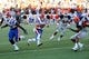 Oct 5, 2013; El Paso, TX, USA; Louisiana Tech Bulldogs wide receiver Andrew Guillot (19) runs into the end zone  for a touchdown against the UTEP Miners at Sun Bowl Stadium. Mandatory Credit: Ivan Pierre Aguirre-USA TODAY Sports