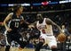 Oct 7, 2013; St. Louis, MO, USA; Chicago Bulls small forward Luol Deng (9) handles the ball as Memphis Grizzlies small forward Mike Miller (13) defends during the second quarter at Scottrade Center. Chicago defeated Memphis 106-87. Mandatory Credit: Jeff Curry-USA TODAY Sports