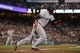 August 19, 2013; San Francisco, CA, USA; Boston Red Sox designated hitter David Ortiz (34) bats during the third inning against the San Francisco Giants at AT&T Park. The Red Sox defeated the Giants 7-0. Mandatory Credit: Kyle Terada-USA TODAY Sports