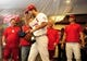 Oct 9, 2013; St. Louis, MO, USA; St. Louis Cardinals starting pitcher Adam Wainwright (50) enters the clubhouse after game five of the National League divisional series playoff baseball game against the Pittsburgh Pirates at Busch Stadium. The Cardinals won 6-1. Mandatory Credit: Jeff Curry-USA TODAY Sports