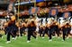 Oct 5, 2013; Syracuse, NY, USA; The Syracuse Orange marching band performs prior to the game against the Clemson Tigers at the Carrier Dome.  Clemson defeated Syracuse 49-14.  Mandatory Credit: Rich Barnes-USA TODAY Sports