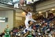 Oct 11, 2013; Newark, DE, USA; Philadelphia 76ers guard Vander Blue (17) goes up for a dunk during the fourth quarter against the Boston Celtics at Bob Carpenter Sports Convocation Center. The Sixers defeated the Celtics 97-85. Mandatory Credit: Howard Smith-USA TODAY Sports