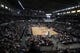 Oct 11, 2013; Boise, ID, USA; General view of Century Link Arena during the second half of the Utah Jazz and Portland Trail Blazers preseaon game. Portland defeated Utah 96-86.  Mandatory Credit: Brian Losness-USA TODAY Sports