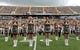 Oct 5, 2013; Hattiesburg, MS, USA; Southern Mississippi dance team, the Dixie Darlings, on the field at M.M. Roberts Stadium before the football game between the Southern Miss Golden Eagles and the FIU Golden Panthers. Mandatory Credit: Chuck Cook-USA TODAY Sports