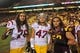 Sep 28, 2013; Tempe, AZ, USA; Arizona State Sun Devils linebacker Carl Bradford (52),  USC Trojans linebacker Scott Starr (47), and offensive tackle Nathan Guertler (76) during the game against the USC Trojans at Sun Devil Stadium. Mandatory Credit: Matt Kartozian-USA TODAY Sports