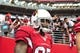 Sep 15, 2013; Phoenix, AZ, USA; Arizona Cardinals cornerback Jerraud Powers (25) during the game against the Detroit Lions at University of Phoenix Stadium. Mandatory Credit: Matt Kartozian-USA TODAY Sports