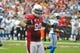 Sep 15, 2013; Phoenix, AZ, USA; Arizona Cardinals defensive end Darnell Dockett (90) during the game against the Detroit Lions at University of Phoenix Stadium. Mandatory Credit: Matt Kartozian-USA TODAY Sports