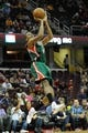 Oct 8, 2013; Milwaukee Bucks shooting guard Giannis Antetokounmpo (34) during a game against the Cleveland Cavaliers at Quicken Loans Arena. Cleveland won 99-87. Mandatory Credit: David Richard-USA TODAY Sports