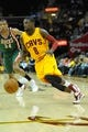 Oct 8, 2013; Cleveland Cavaliers shooting guard Jermaine Taylor (8) during a game against the Milwaukee Bucks at Quicken Loans Arena. Cleveland won 99-87. Mandatory Credit: David Richard-USA TODAY Sports