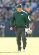 Oct 6, 2013; Green Bay, WI, USA; Green Bay Packers head coach Mike McCarthy during the game against the Detroit Lions at Lambeau Field.  Green Bay won 22-9.  Mandatory Credit: Jeff Hanisch-USA TODAY Sports