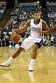 Oct 14, 2013; Sacramento, CA, USA; Sacramento Kings point guard Ray McCallum (3) drives in against the Los Angeles Clippers during the fourth quarter at Sleep Train Arena. The Sacramento Kings defeated the Los Angeles Clippers 99-88. Mandatory Credit: Kelley L Cox-USA TODAY Sports