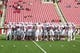Oct 12, 2013; Salt Lake City, UT, USA; Stanford Cardinal players gather during warm-ups prior to a game against the Utah Utes at Rice-Eccles Stadium. Utah defeated Stanford 27-21. Mandatory Credit: Russ Isabella-USA TODAY Sports