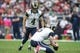 Oct 13, 2013; Houston, TX, USA; St. Louis Rams kicker Greg Zuerlein (4) attempts a field goal during the second quarter against the Houston Texans at Reliant Stadium. Mandatory Credit: Troy Taormina-USA TODAY Sports