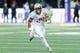 Oct 12, 2013; Seattle, WA, USA; Oregon Ducks running back Thomas Tyner (24) carries the ball against the Washington Huskies at Husky Stadium. Oregon defeated Washington 45-24. Mandatory Credit: Steven Bisig-USA TODAY Sports