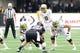 Oct 12, 2013; Seattle, WA, USA; Oregon Ducks quarterback Marcus Mariota (8) during the game against the Washington Huskies at Husky Stadium. Oregon defeated Washington 45-24. Mandatory Credit: Steven Bisig-USA TODAY Sports