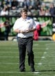 Oct 5, 2013; Boulder, CO, USA; Colorado Buffaloes head coach Mike Macintyre in the first quarter against the Oregon Ducks at Folsom Field. Mandatory Credit: Ron Chenoy-USA TODAY Sports