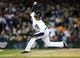Oct 17, 2013; Detroit, MI, USA; Detroit Tigers relief pitcher Al Alburquerque (62) throws against the Boston Red Sox during the sixth inning in game five of the American League Championship Series baseball game at Comerica Park. Mandatory Credit: Rick Osentoski-USA TODAY Sports