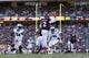 Oct 19, 2013; College Station, TX, USA; Texas A&M Aggies quarterback Johnny Manziel (2) throws a pass against the Auburn Tigers during the second half at Kyle Field. Mandatory Credit: Soobum Im-USA TODAY Sports