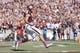 Oct 19, 2013; College Station, TX, USA; Texas A&M Aggies wide receiver Mike Evans (13) scores a touchdown run against the Auburn Tigers during the first half at Kyle Field. Mandatory Credit: Soobum Im-USA TODAY Sports