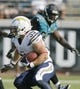 Oct 20, 2013; Jacksonville, FL, USA; San Diego Chargers running back Danny Woodhead (39) runs in the fourth quarter of their game against the Jacksonville Jaguars at EverBank Field. The San Diego Chargers defeated the Jacksonville Jaguars 24-6. Mandatory Credit: Phil Sears-USA TODAY Sports
