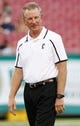 Oct 5, 2013; Tampa, FL, USA; Cincinnati Bearcats head coach Tommy Tuberville against the South Florida Bulls prior to the game at Raymond James Stadium. Mandatory Credit: Kim Klement-USA TODAY Sports