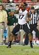 Oct 5, 2013; Tampa, FL, USA; Cincinnati Bearcats wide receiver Jeremy Graves (17) catches the ball against the South Florida Bulls during the second half at Raymond James Stadium. South Florida Bulls defeated the Cincinnati Bearcats 26-20. Mandatory Credit: Kim Klement-USA TODAY Sports