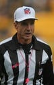 Oct 20, 2013; Pittsburgh, PA, USA; NFL referee Bill Leavy (127) before the game between the Pittsburgh Steelers and the Baltimore Ravens at Heinz Field. Mandatory Credit: Jason Bridge-USA TODAY Sports
