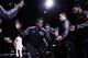 Oct 22, 2013; San Antonio, TX, USA; San Antonio Spurs forward Kawhi Leonard (2) is introduced prior to a preseason game against the Orlando Magic at AT&T Center. Mandatory Credit: Soobum Im-USA TODAY Sports