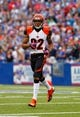 Oct 13, 2013; Orchard Park, NY, USA; Cincinnati Bengals wide receiver Marvin Jones (82) during a game against the Buffalo Bills at Ralph Wilson Stadium. Mandatory Credit: Timothy T. Ludwig-USA TODAY Sports