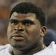 Aug 15, 2013; Chicago, IL, USA; San Diego Chargers offensive tackle D.J. Fluker (76) watches the game against the Chicago Bears during the third quarter at Soldier Field. Mandatory Credit: David Banks-USA TODAY Sports