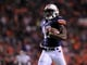 Oct 26, 2013; Auburn, AL, USA; Auburn Tigers wide receiver Sammie Coates (18) scores a touchdown in the first half against the Florida Atlantic Owls at Jordan Hare Stadium. Mandatory Credit: Shanna Lockwood-USA TODAY Sports