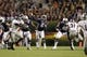 Oct 26, 2013; Auburn, AL, USA; Auburn Tigers quarterback Jeremy Johnson (6) throws a pass against the Florida Atlantic Owls during the second half at Jordan Hare Stadium. The Tigers beat the Owls 45-10.  Mandatory Credit: John Reed-USA TODAY Sports