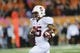 Oct 26, 2013; Corvallis, OR, USA; Stanford Cardinal running back Tyler Gaffney (25) runs the ball in for a touchdown against the Oregon State Beavers during the 2nd half at Reser Stadium. Stanford defeated Oregon State 20-12. Mandatory Credit: Steven Bisig-USA TODAY Sports