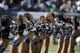 Oct 27, 2013; Philadelphia, PA, USA; Philadelphia Eagles cheerleaders perform before the first half against the New York Giants at Lincoln Financial Field. The Giants won the game 15-7. Mandatory Credit: Joe Camporeale-USA TODAY Sports