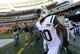Oct 27, 2013; Cincinnati, OH, USA; New York Jets cornerback Darrin Walls (30) rushes the field before the game at Paul Brown Stadium. Mandatory Credit: Marc Lebryk-USA TODAY Sports