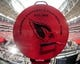 Oct 27, 2013; Phoenix, AZ, USA; General view of the Big Red Siren prior to the game between the Arizona Cardinals and the Atlanta Falcons at University of Phoenix Stadium. Mandatory Credit: Matt Kartozian-USA TODAY Sports