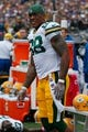 Oct 13, 2013; Baltimore, MD, USA; Green Bay Packers tight end Jermichael Finley (88) before the game against the Baltimore Ravens at M&T Bank Stadium. Mandatory Credit: Mitch Stringer-USA TODAY Sports