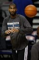 Oct 24, 2013; Auburn Hills, MI, USA; Minnesota Timberwolves small forward Corey Brewer (13) warms up before the game against the Detroit Pistons at The Palace of Auburn Hills. Mandatory Credit: Raj Mehta-USA TODAY Sports
