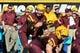 Oct 19, 2013; Tempe, AZ, USA; Arizona State Sun Devils quarterback Taylor Kelly (10) during the game against the Washington Huskies at Sun Devil Stadium. Mandatory Credit: Matt Kartozian-USA TODAY Sports