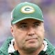 Oct 13, 2013; Baltimore, MD, USA; Green Bay Packers head coach Mike McCarthy walks the sidelines of the game against the Baltimore Ravens at M&T Bank Stadium. Mandatory Credit: Mitch Stringer-USA TODAY Sports
