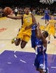 Oct 29, 2013; Los Angeles, CA, USA;   Los Angeles Clippers point guard Chris Paul (3) defends Los Angeles Lakers shooting guard Nick Young (0)during the game at the Staples Center. Lakers won 116-103. Mandatory Credit: Jayne Kamin-Oncea-USA TODAY Sports