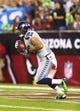 Oct 17, 2013; Phoenix, AZ, USA; Seattle Seahawks wide receiver Jermaine Kearse (15) against the Arizona Cardinals at University of Phoenix Stadium. Mandatory Credit: Mark J. Rebilas-USA TODAY Sports