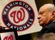 Nov 1, 2013; Washington, DC, USA; Washington Nationals owner Ted Lerner looks on during the press conference at Nationals Park. Mandatory Credit: Evan Habeeb-USA TODAY Sports