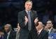 November 1, 2013; Los Angeles, CA, USA; Los Angeles Lakers head coach Mike D'Antoni watches game action against the San Antonio Spurs during the first half at Staples Center. Mandatory Credit: Gary A. Vasquez-USA TODAY Sports