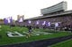 Sep 7, 2013; Evanston, IL, USA;  An overall shot of Ryan Field and Northwestern Wildcats cheerleaders after a Northwestern Wildcats scoring play against the Syracuse Orange during the first quarter. Mandatory Credit: David Banks-USA TODAY Sports