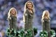 Nov 3, 2013; East Rutherford, NJ, USA; New York Jets Flight Crew Cheerleaders perform against the New Orleans Saints during the second half at MetLife Stadium. The Jets won the game 26-20. Mandatory Credit: Joe Camporeale-USA TODAY Sports